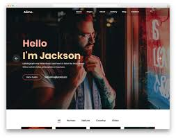 35 Best Free Photography Website Templates For