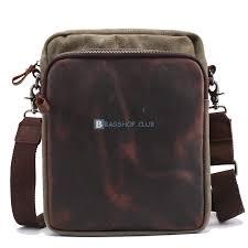 mens leather shoulder bags canvas messenger bags 1