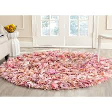safavieh hand woven chic pink area rugs