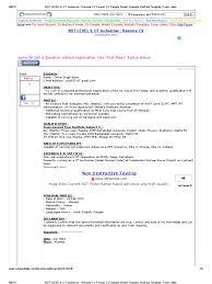 NDT LEVEL II, UT Technician _ Resume CV Format, CV Sample, Model,