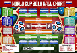 New Official Russia 2018 Football World Cup Poster Wall