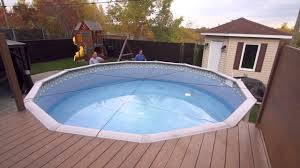 above ground pool winter covers. Toile Soleil : Winter Cover For Above-ground Pool Above Ground Winter Covers E