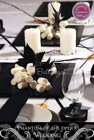 Masquerade Ball Table Decoration Ideas Unique Phantom Of The Opera Masqueradethemed Wedding Decor Inspiration