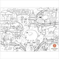 zoo drawing. Delighful Zoo Princ Lionheart Color  Draw Mat In Zoo On Drawing