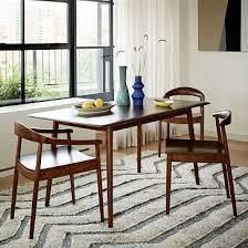 mid century modern dining rooms. lena mid-century dining table mid century modern rooms