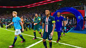 PES 2020 | PSG vs MANCHESTER CITY | UEFA Champions League 2020