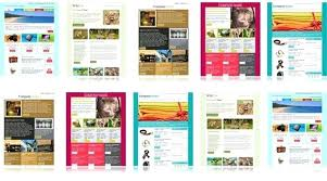Free Newsletter Layout Templates Awesome Download Free Email Templates Newsletter Collection Product Template