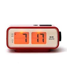 battery powered clock battery powered alarm clock marvellous battery operated clocks battery powered digital clock red