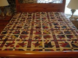 31 best bear quilt images on Pinterest | Crafts, Bear and Bear paws & bear paw quilt block | Traditional Bear Paw Quilt - Country Reds, Blues and  Golds Adamdwight.com