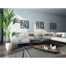 matrix 58 x 58cm charcoal wall art