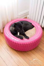 repurpose furniture dog. Recycle A Tire Into DIY Dog Bed Repurpose Furniture