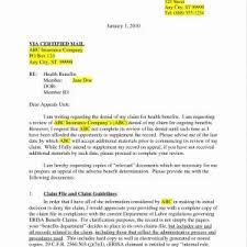Sample Letter To Insurance Company For Reimbursement Letter Writing Format For Medical Reimbursement Best Formal Claim