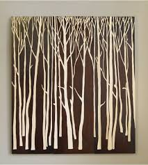 carved tree wall art arbor spring white wood mural sayings names in lodge wall art