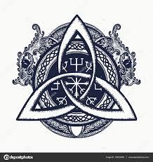 драконы и кельтский узел татуировки и футболку дизайн драконы