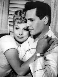 Image result for lucille ball and desi arnaz color romantic