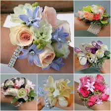 custom designed wrist corsages for prom