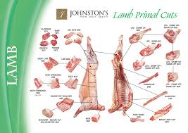 Cuts Of Lamb Chart Lamb Meat Cutting And Processing For Food Service