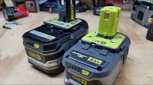 Ryobi Battery Comparison Chart Ryobi One 6ah Battery Review More Power