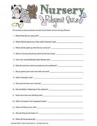 Nursery Rhyme Quiz Baby Shower Game #babyshower | Babyshower <3 in ...