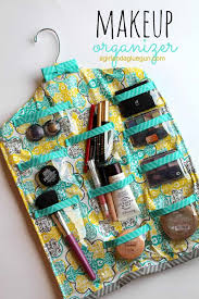 diy makeup organizing ideas hanging makeup organizer projects for makeup drawer box