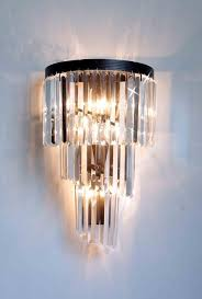 a7 4 1100 wallsconce gallery chandeliers retro odeon crystal glass fringe helix 3 tier spiral wall sconces