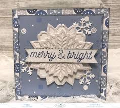 Christmas Notecard A Creative Journey Merry Bright Christmas Notecard