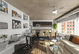 Office lofts Nyc Elofts Apartment Office Alamy New Officeresidential Hybrid Concept Opening In Alexandria