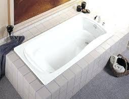 kohler archer tub k 0 5 foot drop in soaking with reversible drain white a112 kohler archer tub