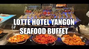 LOTTE HOTEL YANGON SEAFOOD BUFFET - YouTube