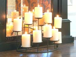 candle holders for fireplace mantel love this grouping of lanterns candles