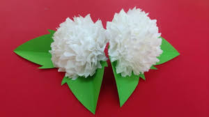 Tissue Paper Flower How To Make How To Make Tissue Paper Flowers Making Tissue Paper Flowers