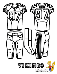 Minnesota Vikings Coloring Pages Coloring Home