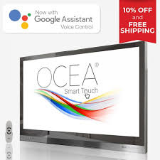 10 off with free for ocea 40 inches bathroom tv with google assistant