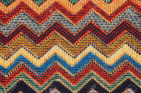 Mexican Pattern Best Texture Of Fabric With Traditional Mexican Pattern Macro A Stock
