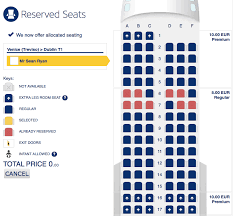 Ryanair Plane Seating Chart Jse Top 40 Share Price