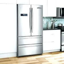 french door refrigerator in kitchen. Large French Door Refrigerator Ultra Capacity In Kitchen