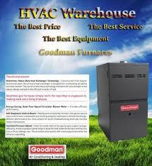 goodman 80000 btu gmh80803bn gas 2 stage furnace upflowhorizontal 80 afue stage furnace u96