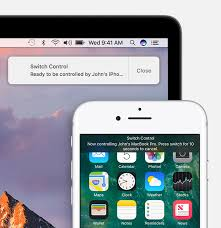 Switch control on Mac and iOS