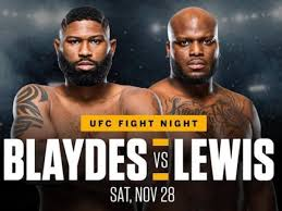 Israel adesanya is out to make history on a packed ufc 259 card tonight.the middleweight champ is going for a second title in a second division as he. Ufc Vegas 19 Blaydes Vs Lewis Full Betting Odds Bjpenn Com