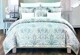 lavender duvet bedding 3 piece full queen cover set ornate french medallion pattern in flower mauve l