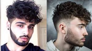 Top 10 Sexiest Curly Hairstyles For Guys 2018 10 Best Stylish
