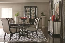 bernhardt furniture dining room. Bernhardt Miramont 9 Piece Dining Set With Double Pedestal Table And Upholstered Chairs - Wayside Furniture Room
