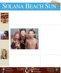 Solana Beach Tide Chart 4 28 2011 Solana Beach Sun Pdf Document