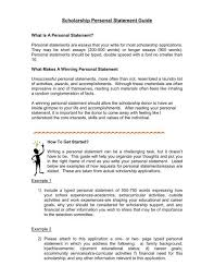 What Are Your Personal And Career Goals Scholarship Personal Statement Guide