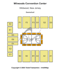 Wildwood Convention Center Seating Chart Wwe Harlem Globetrotters Wildwood Harlem Globetrotters