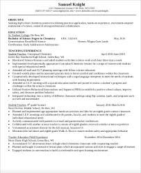 Teacher Resume Objective Gorgeous 28 Teacher Resume Objectives Sample Templates