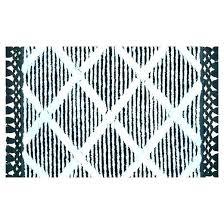 navy blue bathroom rugs striped rug bath mats black green mat st