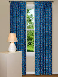 Curtain : With Blue Design Blue Tan Curtains Blue And Grey Drapes ...