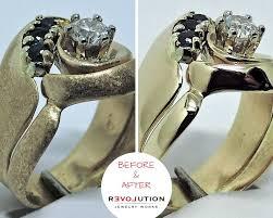 jewelry repair and refurbishment pleted by our colorado springs team diamond ring refurbishment