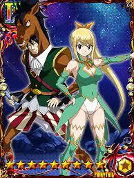 Fairy Tail Brave Guild - Lucy Heartfilia and Sagittarius   Fairy tail,  Anime, Fairytail